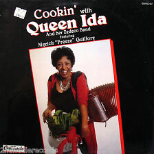 QUEEN IDA & HER ZYDECO BAND-Fully Sealed Blues Zydeco Album-CRESCENDO #GNPS 2197