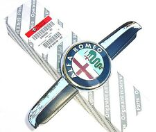 ALFA ROMEO 156 (2003 on)  Genuine New Front Grille Bonnet Badge Emblem & Plinth
