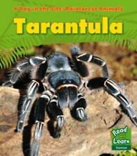 Tarantula (A Day in the Life: Rainforest Animals) Ganeri, Anita Very Good Book