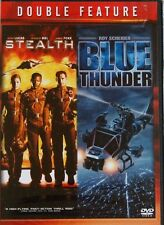 Double Feature Stealth/Blue Thunder NEW 2 Disc DVD Set Buy 2 Items- Get $2 OFF