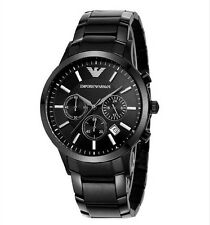 Emporio Armani AR2453 Men's Black Chronograph Watch Quartz