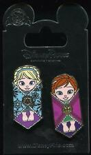 Baby Anna Elsa Swaddled in Blankets Frozen Authentic 2 Pin Set Disney Pin 114325