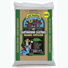 Unco Industries Wiggle Worm Organic Earthworm Castings Fertilizer, 30-Pound.