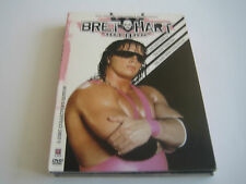 """WWE DVD BRET """"HIT MAN"""" HART THE BEST THERE IS, THERE WAS***3 DISC SET***"""