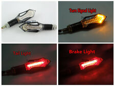 REAR LED TURN SIGNALS TAIL LIGHT BLINKER FOR SUZUKI SPORT MOTORCYCLE STREET BIKE