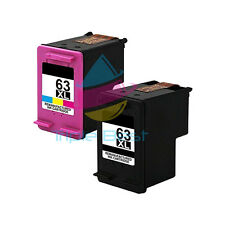 2x 63XL High Yield Black & Color Remanufactured Ink Cartridge for HP ENVY 4520