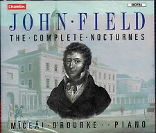 John Field The Complete Noctures CD NEW Miceal O'Rourke piano