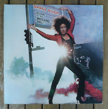 "GRACE SLICK ""WELCOME TO THE WRECKING BALL!"" AQL1-3851 (1981) 12"" GATEFOLD LP NM"