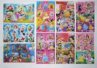 Disney Princesses Snow White Ariel Jasmine Cinderella Stickers 4x6'' (10x15cm)