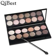 Qibest 12 Colors Shimmer Naked Eyeshadow Palette Natural Eye shadow Highlighter