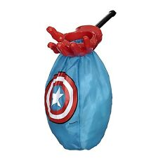 Marvel Comics Avengers Assemble Captain America Boy's Halloween Candy Loot Scoop