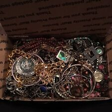 JUNK JEWELRY COSTUME CRAFT LOT MIXED AND TANGLED