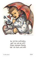 """Fleißbildchen Heiligenbild Gebetbild """" Hummel """" Holy card Ars sacra"""" H800"""""""