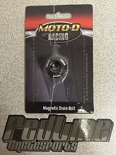 Moto-D Pre drilled oil DRAIN BOLT 2  for safety wire  Moto D GSXR Hayabusa SV