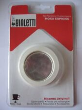 Bialetti 3 Replacement Seal and 1 Filter Parts 4 Cups MOKA/DAMA 3seals 1filter