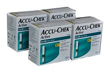 Accu-Chek Active 400 Test Strips, 8*50 Strips with 4 Code Chips