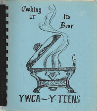 *WICHITA KS 1979 VINTAGE *YWCA Y TEENS COOK BOOK COOKING AT IT'S BEST *KANSAS
