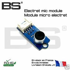 Module capteur de son cellule microphone statique electret iTead 3/4 pin FR