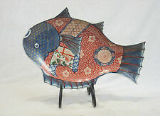 Chinese  Famille  Rose  Porcelain  Fish  Plate   4