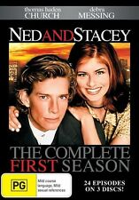 Ned And Stacey : Season 1 (DVD, 2015, 3-Disc Set) New and Sealed