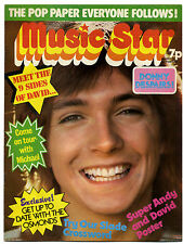 MUSIC STAR Magazine 19/5/1973 Rory Gallagher David Bowie Cassidy Jackson Five