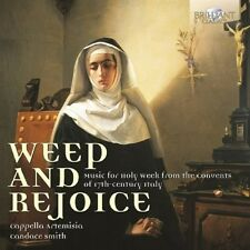 Weep and rejoice-Music for HOLY week CD NUOVO banchieri/RUSCA/Monteverdi/+