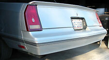 1981-88 Monte Carlos SS Rear Trunk Spoiler - Lay Down Style