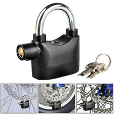 Anti-theft Padlock Sound Alarm Lock Security +3 Keys for Bike Motorcycle Optimal