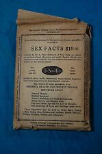 Sex Facts 7 Pamphlets Dr. S. Dana Hubbard Claremont Printing 1922 Naked Truth
