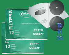 24 Filter Queen 50047 Filters & Cones Majestic RN92 Triple Crown Vacuum Cleaner