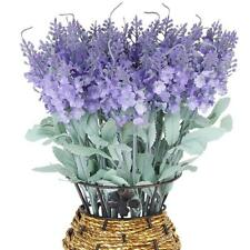 1 Bunch Orchid Fake Artificial Provence Lavender Bouquet Home Garden Office Deco