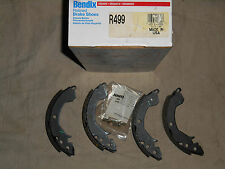 Hyundai Excel 1986-89 Dodge Colt 79-84 ++ Set of Rear Brake Shoes Bendix R499