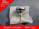 1x30mm Mushroom Knob, bathroom cabinet cupboard door/drawer ,pullers