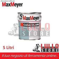 PITTURA MURALE PER INTERNO MAX-MEYER CASACOLOR LAVAB TRASP. 5 LT BIANCO O COLORI