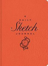 The Daily Sketch Journal (Red) by Sterling Publishing Co., Inc.