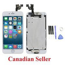 """White LCD Touch Screen Display Digitizer Assembly for iPhone 6 4.7"""" Home Button"""