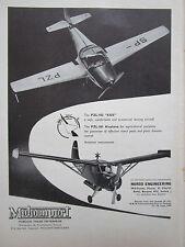 5/60 PUB MOTOIMPORT POLAND PZL -101 AGRICULTURAL AIRCRAFT / PZL-102 KOS AD