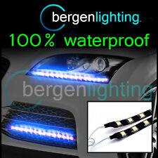 2 X 350 Mm Exterior Azul headlamp/bumper 12v Smd5050 Drl Luz De Ambiente Tiras