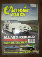 CLASSIC CARS MAGAZINE DECEMBER 1992 ALLARD SAFARI