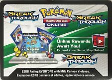 Pokemon XY BREAKthrough TCG online code card (12 count)