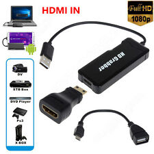 HD Game Video Capture 1080P HDMI Recorder USB 2.0 For PS3 4 XBOX Phone DVD Card