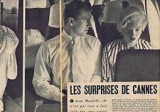 Coupure de presse Clipping 1958 Jayne Mansfield (6 pages)