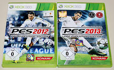 2 XBOX 360 SPIELE BUNDLE - PES 2012 & 2013 - FUSSBALL PRO EVOLUTION SOCCER 2015