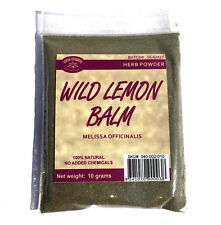 WILD LEMON BALM 10 g Melissa officinalis  HERB POWDER - ANTI INSOMNIA FRESH