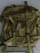 MILITARY OD GREEN FIELD BACK PACK FRAME RUCK SACK RUCKSACK MEDIUM
