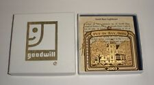 2003 Goodwill Hallmark Ornament Put-In-Bay South Bass Lighthouse Ohio OH NOS