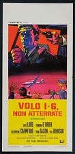LOCANDINA, VOLO 1 - 6 NON ATTERRATE The Doomsday Flight LORD, THRILLER POSTER B
