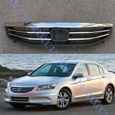 Front Bumper UPPER GRILLE Grilles Center Cover for HONDA ACCORD 2011