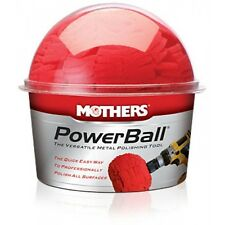 Mothers PowerBall Tool For Metal Polishing - Use with any Drill - Car, Boat