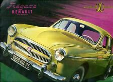 Catalogue RENAULT FREGATE catalogo katalog catalog propekt brochure publicité